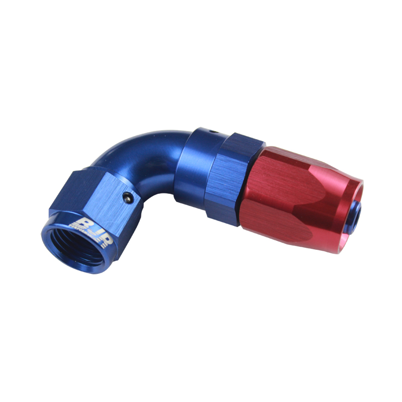 90° One Piece Swivel Hose End