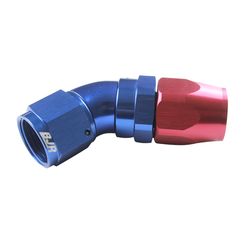 45° One Piece Swivel Hose Ends